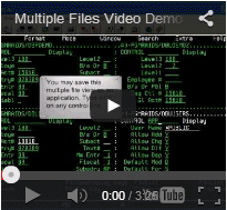 DBU Multiple Files Video Demo