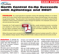 North Central Co-Op Succeeds with AgVantage and DBU
