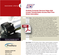 ProData helps AAA Cooper Transportation