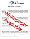 Whitepaper - RDB Connect's data integration will help increase productivity.